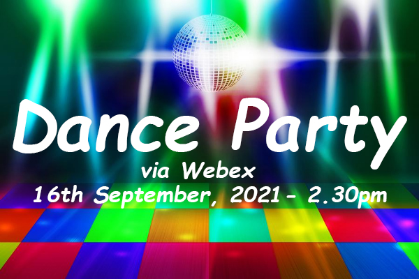 Dance Party on Webex